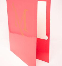 M Sword Folder - Hot Pink