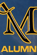 M Sword Alumni Decal