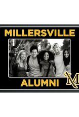 Alumni Frame-A-Fan - Black W/ Gold Lettering