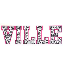 Ville Decal - Zebra