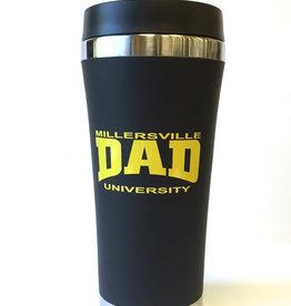 Millersville Dad Insulated Travel Mug - Black