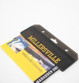 Half Swipe Id Card Holder - Black