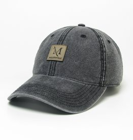 League Dashboard Trucker With Leather Patch Cap
