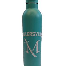 M Sword Aluminum Water Bottle - Powder Coat Mint, 17oz