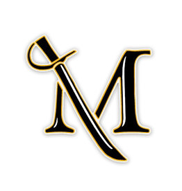 M Sword Static Cling