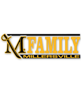 M Sword Family Decal