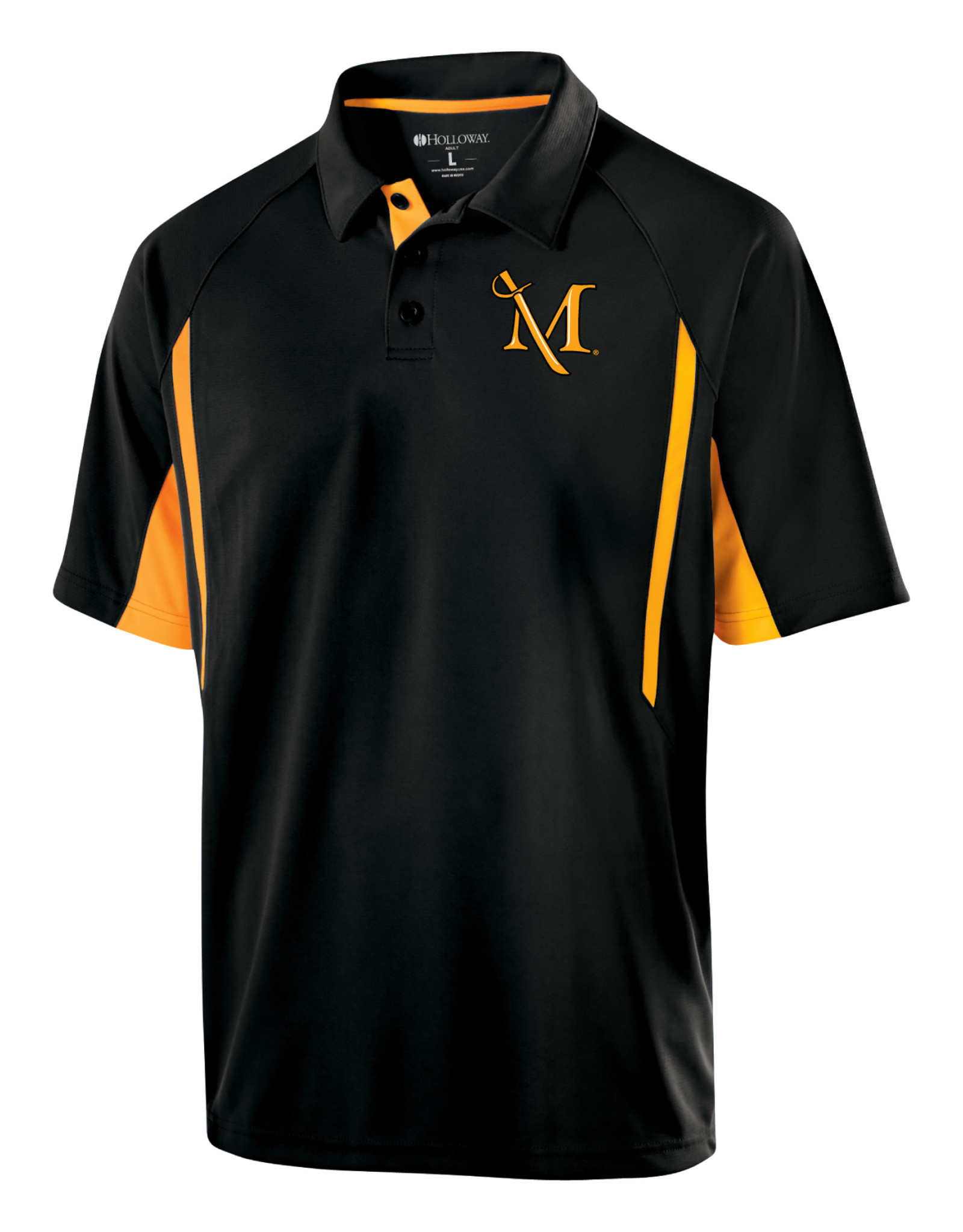 "Black And Gold ""Avenger"" Polo Sale!"