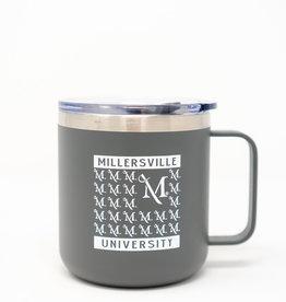 M Sword Insulated Desk Mug - Grey