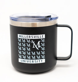 M Sword Insulated Desk Mug - Black