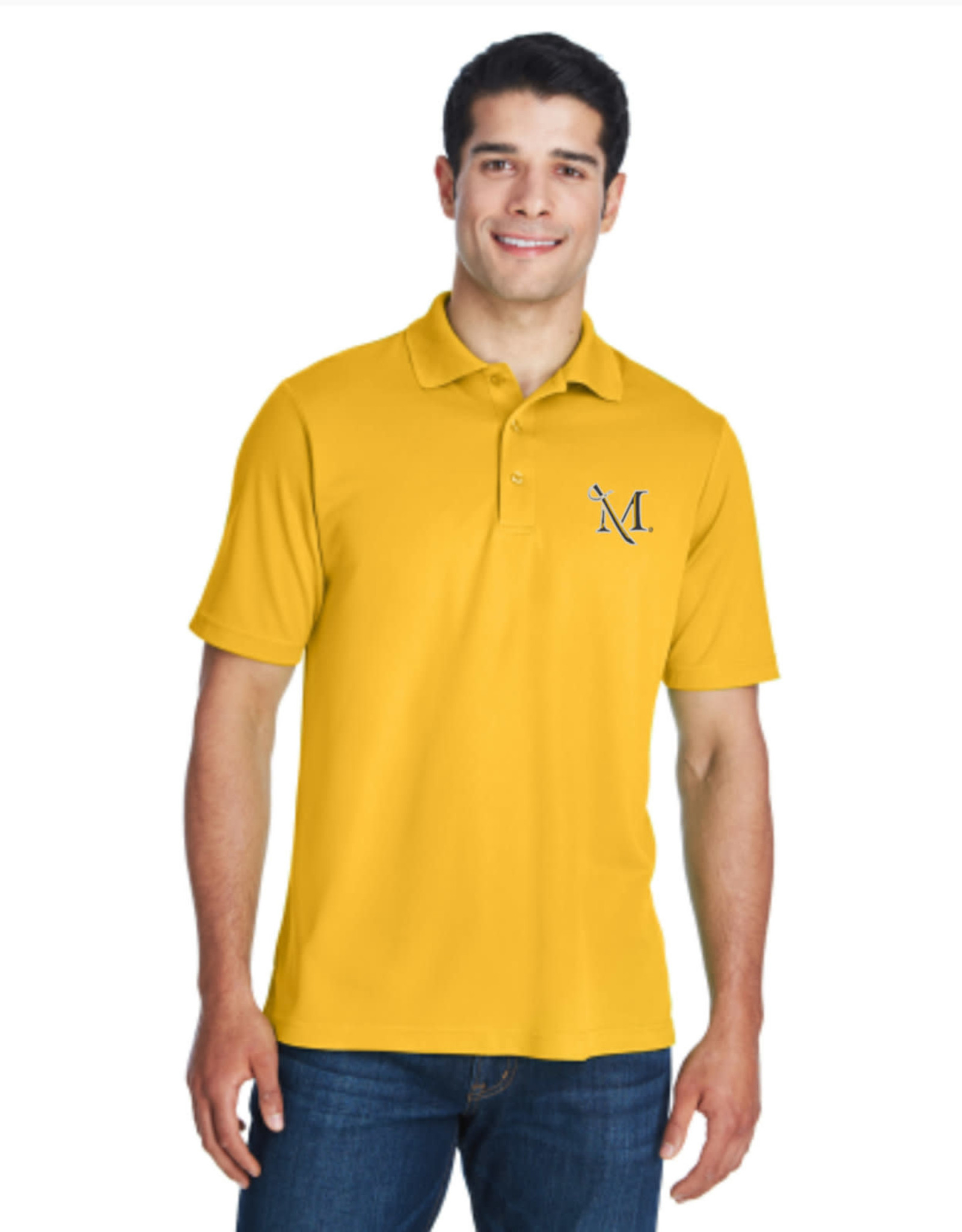 Gold M-Sword Polo
