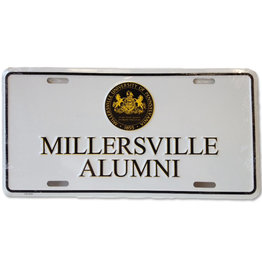 Mu Seal Alumni License Plate-Sale
