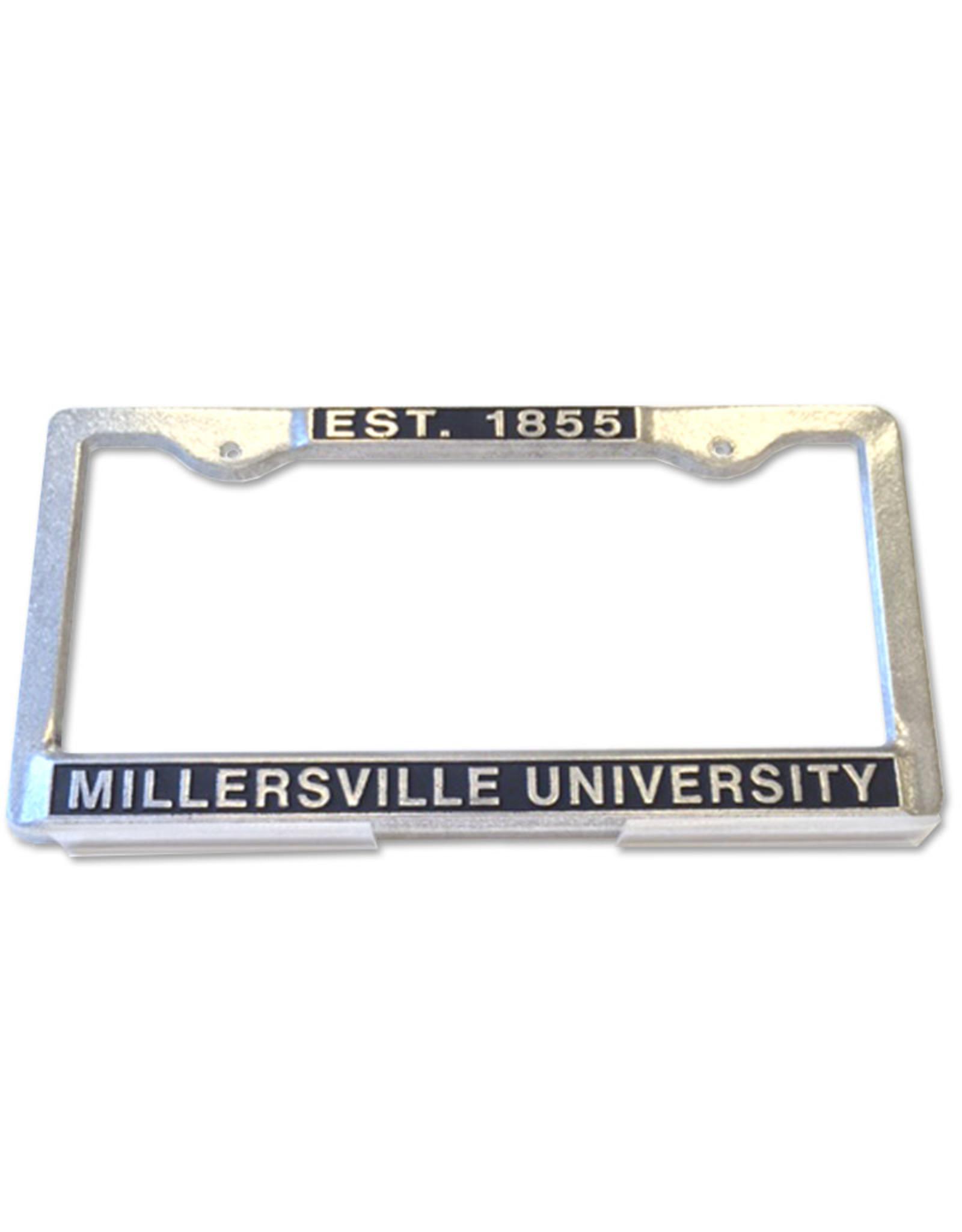 MU Est. 1855 Pewter License Plate Frame