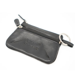 Leather Coin Case - Black