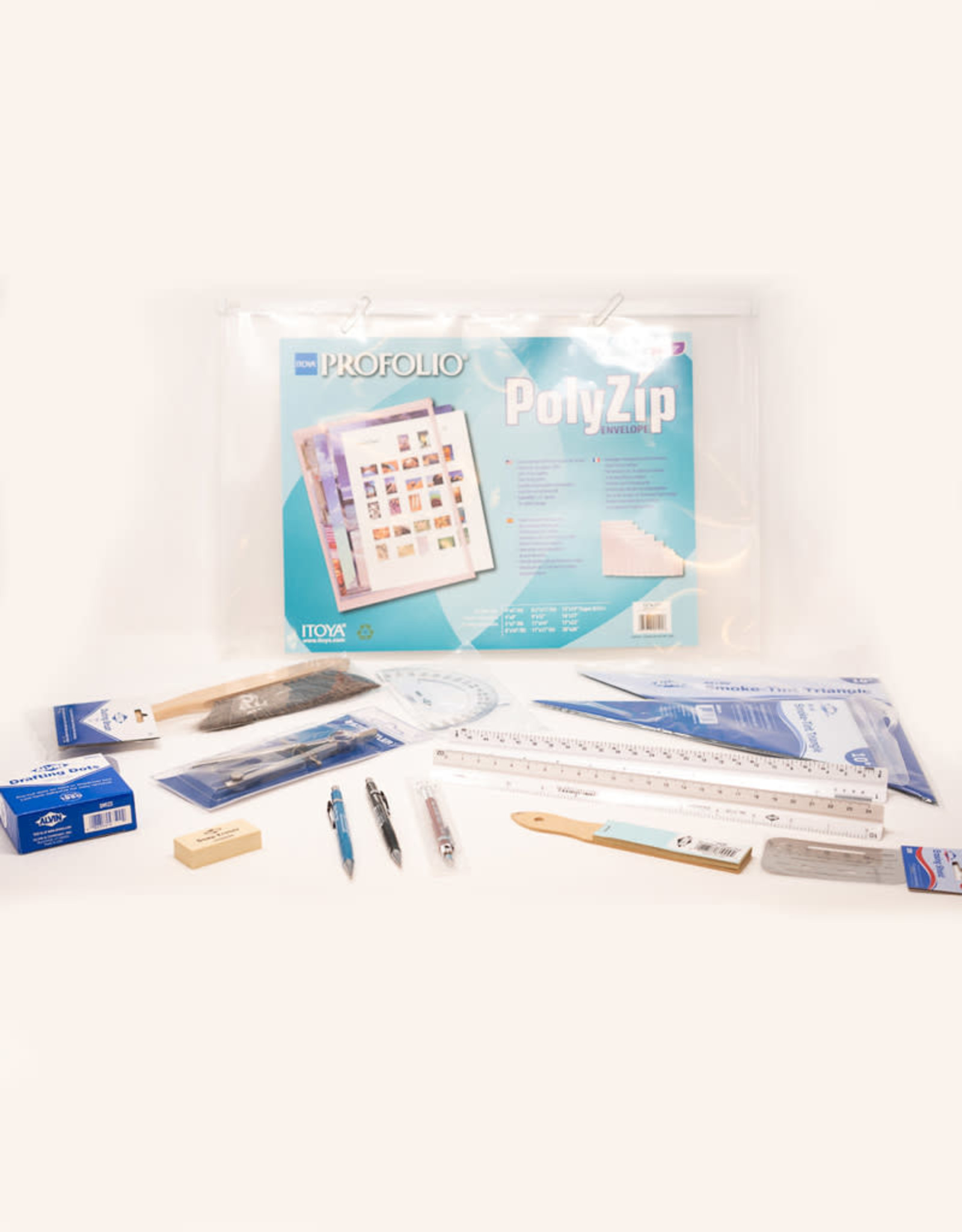 Drafting Kit With 0.3 Mm Pencil Pencil