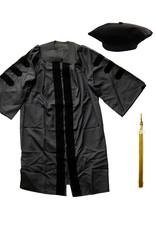 Doctorate Gown, Cap & Tassel