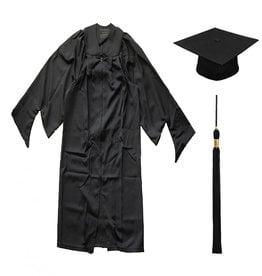Masters Gown, Cap & Tassel