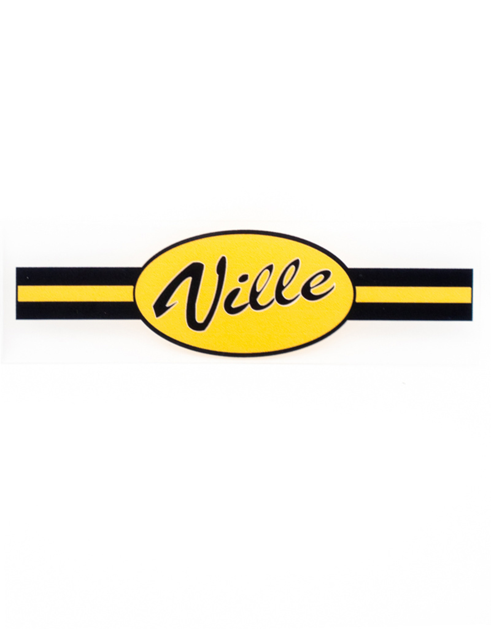 Ville Static Cling Decal
