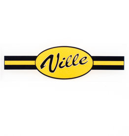Ville Static Cling Decal- Sale