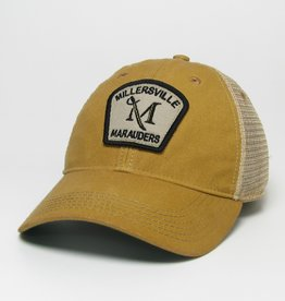 League Gold Old Favorite Trucker Cap With Patch