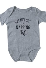 Bachelor's In Napping Onesie