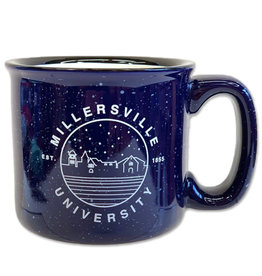 Millersville Silhouette Santa Fe Mug - Blue