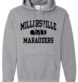 "Graphite Heather ""Back to School"" Hood Special $15!"