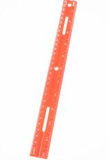 "12"" Plastic Ruler"