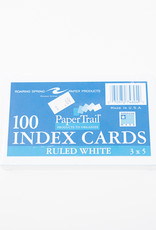 Ruled Index Cards - 3 x 5