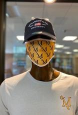 Gold M Sword Mask
