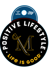 """Life is Good """"Life is Good"""" Positive Lifestyle sticker"""