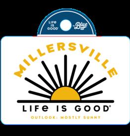 "Life is Good ""Life is Good"" Life is Sunny Sticker"