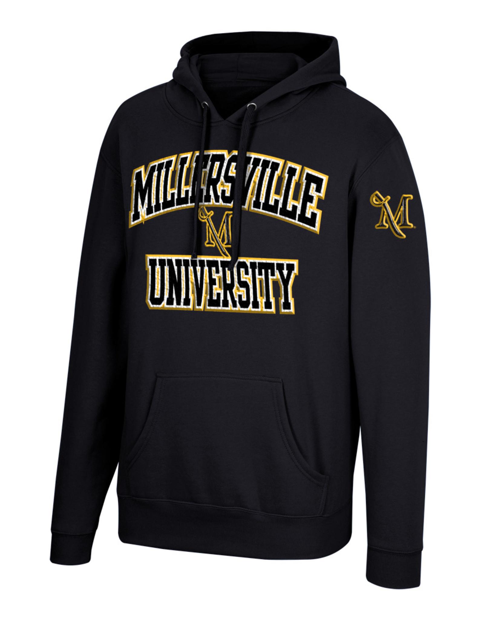 Black Premium Hood with Millersville Twill