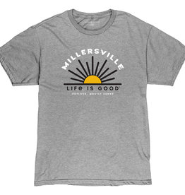 "Life is Good ""Life is Good"" Outlook Mostly Sunny Tee"