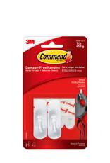 3M Command Small Hooks - 2pk