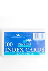 Index Cards - Plain, 3 x 5