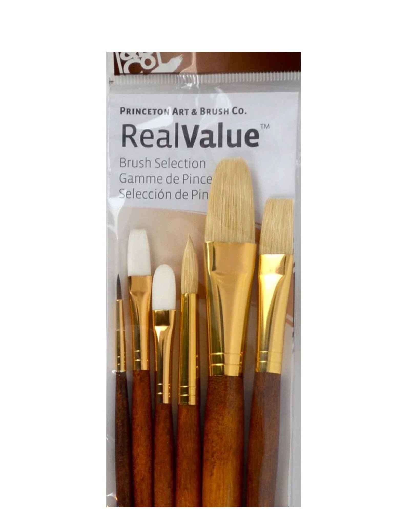 Real Value Brush Set- 6 Long