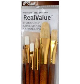 Real Value Brush Set- 6 Long