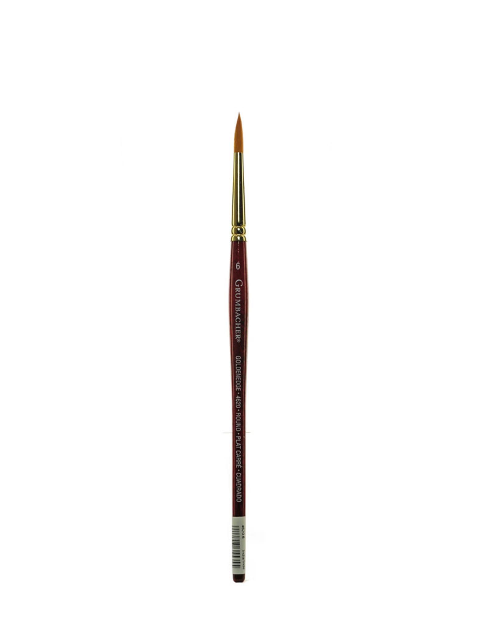 Grumbacher Brush 4620 Watercolor 6 Round