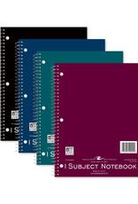 1 Subject Wirebound Notebook - Asst Colors