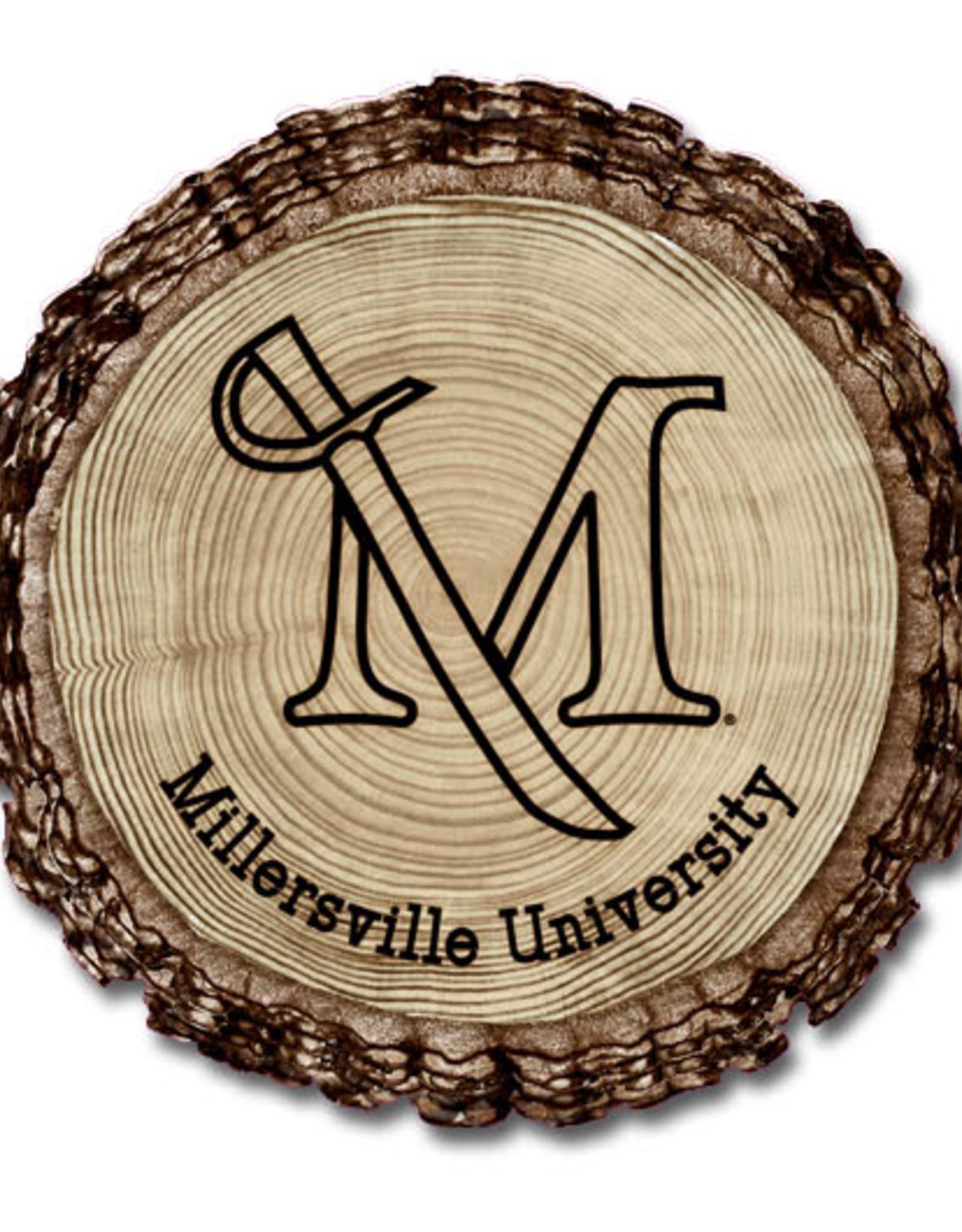 Barky M Sword Wooden Magnet