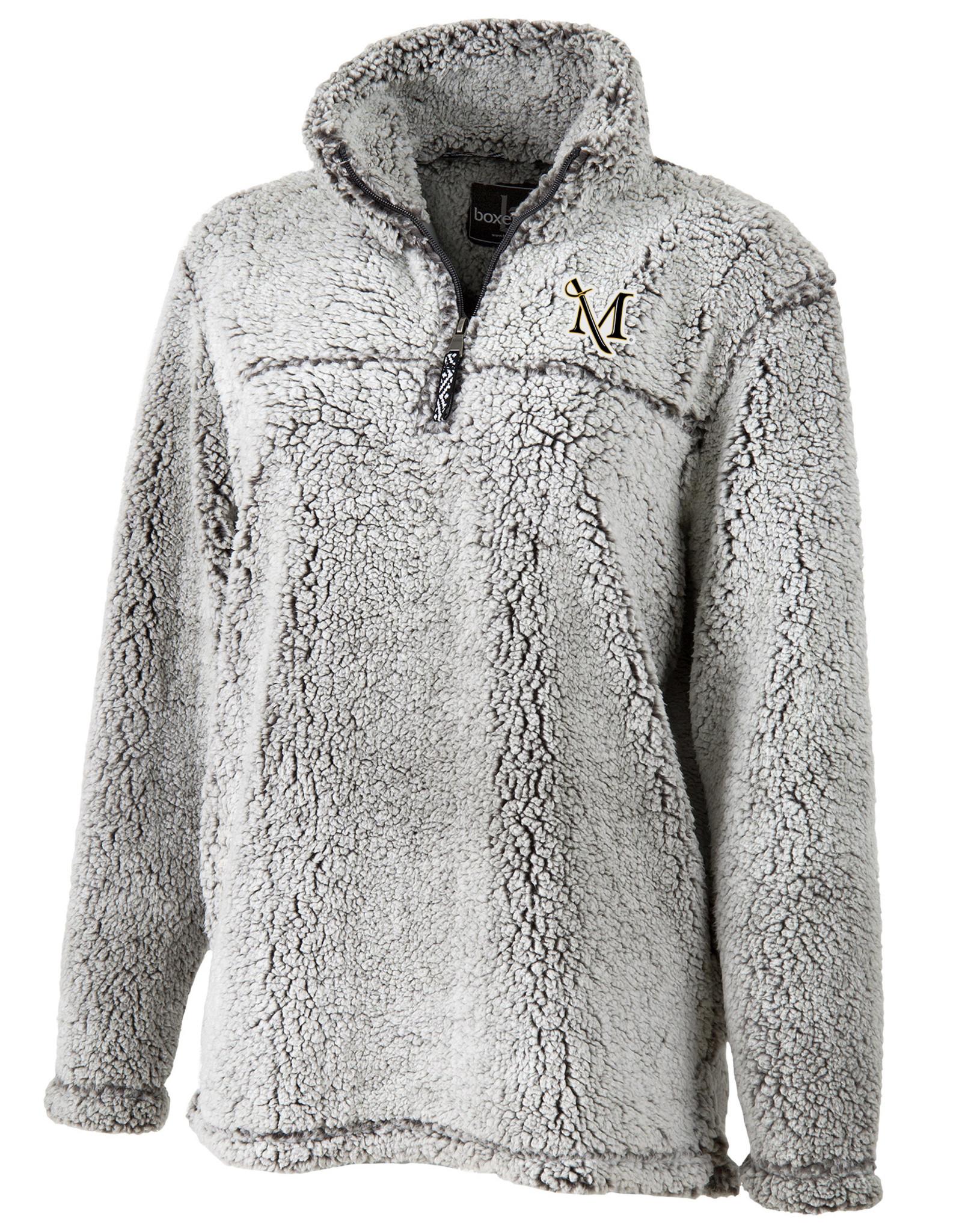 Frosty Grey Sherpa 1/4 Zip