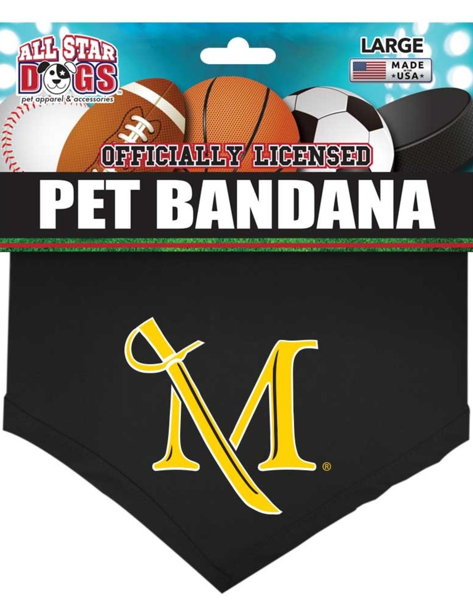 "Pet Bandana 22"" Silk screened-Sale!"