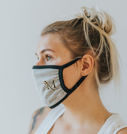 Heather Grey Premium M-Sword Mask