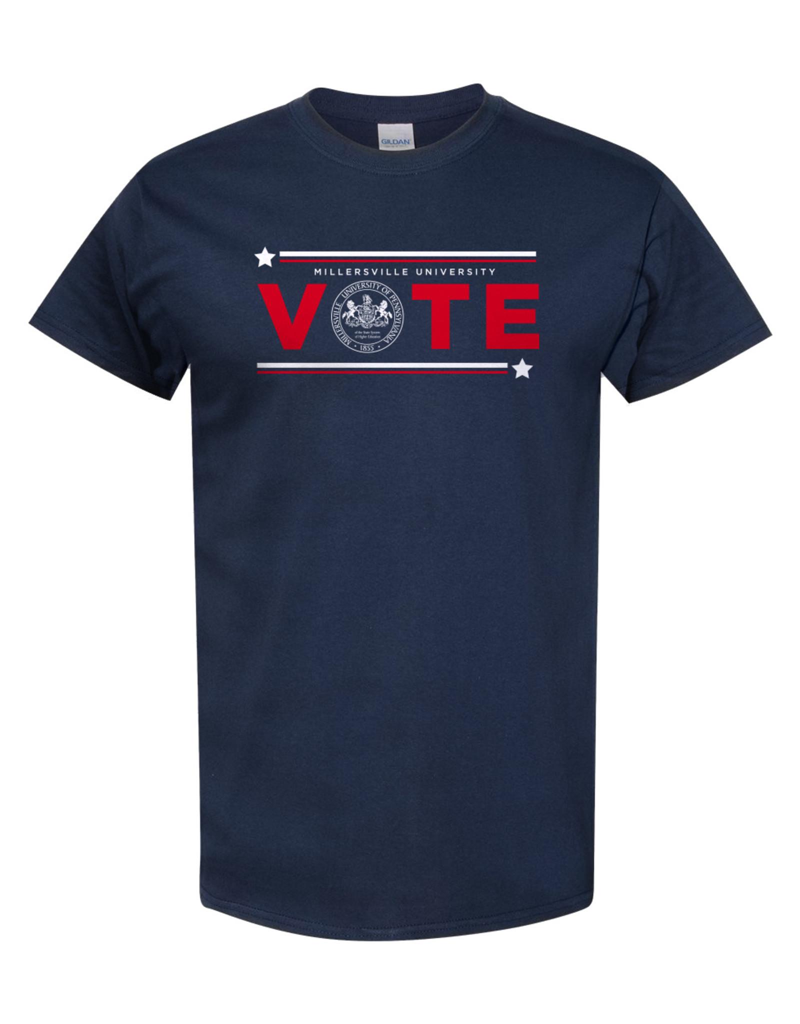 Vote Tee Navy