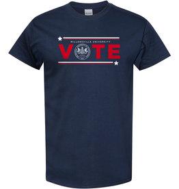 Vote Tee Navy - Sale!