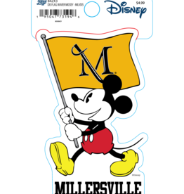 Disney Mickey Mouse with Flag Sticker