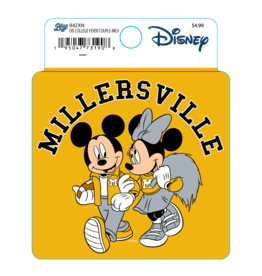 Disney Collegiate Mickey and Minnie Sticker