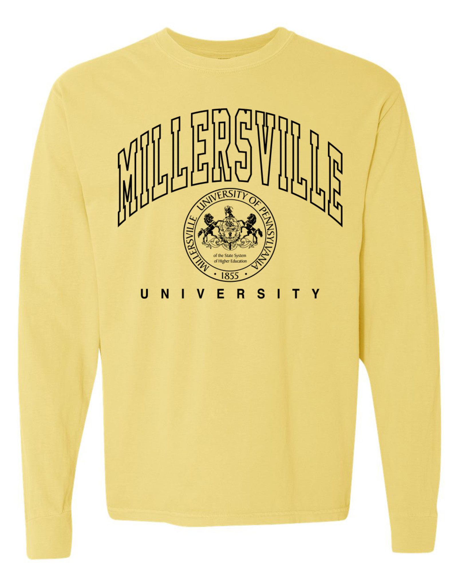 Longsleeve Butter Comfort Color Tee with Seal
