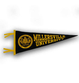 Millersville Seal Pennant - Small