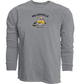 Life is Good Life is Good Roadtrip Longsleeve Grey